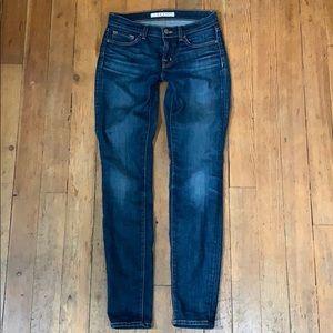 J Brand dark wash skinny jeans size 26